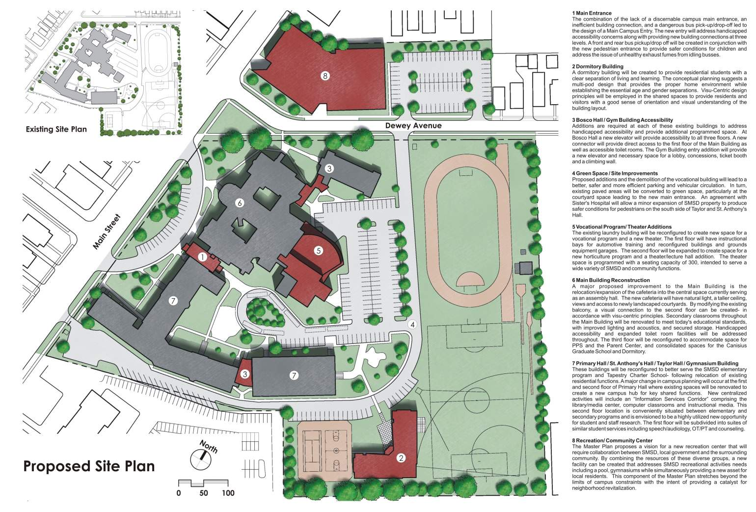 St Marys School For The Deaf Master Plan Projects Stieglitz – Site Planning Principles