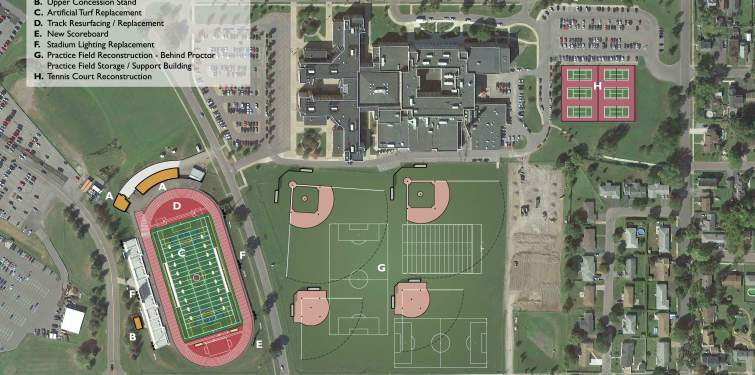 Utica City School District Athletic Reconstruction