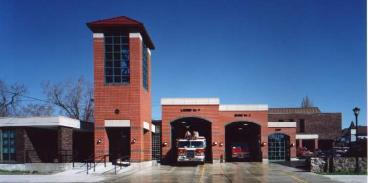 Elmwood Virginia Fire Station